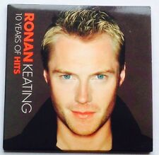 RONAN LEATING - 10 YEARS OF HITS 16 TRACK PROMO CD ALBUM NEW CONDITION