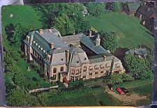 Rhode Island Postcard NEWPORT Mansion BELCOURT CASTLE Aerial View Hopf 1967 4x6