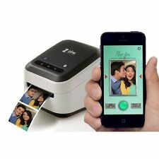 "New ZINK hAppy Smart App Inkless Printer with  1/2"" zRoll & Cleaning zRoll"