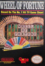 Wheel of Fortune - NES, Nintendo Game - Cartridge Only