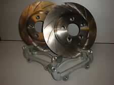 FORD FALCON BA BF XR6 TURBO AND XR8 BIG BRAKE UPGRADE TO 322mm DISKS SLOTTED FPV