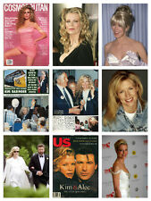 Kim Basinger RARE collection - photos clippings & magazine articles