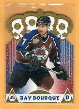 2001-02 Pacific Ray Bourque Gold Crown Die Cuts #4 Colorado Avalanche