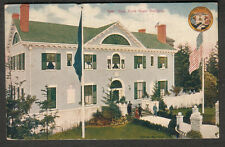 1909 post card New York state Building Seattle Yukon Pacific Expo to Waterloo NY