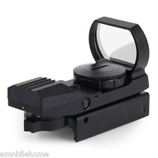 Hunting Holographic Reflex Red Green Dot Sight Scope 20mm 11 x 22 x 33