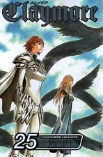 Claymore Volume 25  Norihiro Yagi       Manga  Pbk NEW