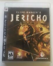 Clive Barker's Jericho (Sony PlayStation 3, 2007) COMPLETE! works great! PS3