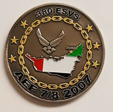 US Air Force 380th Expeditionary Services Squadron AEF 7/8 Dubai 2007