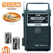 Radio Classic design. TECSUN r206. loud and clear. Use large battery. home gift.