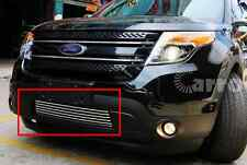 Stainless steel Front down side Grille fit ford explorer 2011-2014
