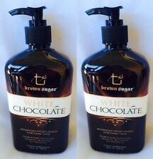2 Tan INC Brown Sugar White Chocolate Moisturizer Lotion Enhancer & Extender