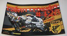 2015 Calvin Crosslin TOBC Racing Suzuki GSX-R600 Daytona 200 ASRA poster