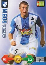 MARTIAL ROBIN # GRENOBLE FOOT 38 TRADING CARDS ADRENALYN PANINI FOOT 2010