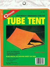 Coghlan's Emergency 2-Person Lightweight Tube Tent Camping Shelter Tarp