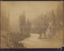 CANADIAN PACIFIC RAILWAY VICTORIA BRITISH COLUMBIA MCMUNN Photo 1890 CPR BC