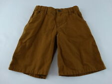 Carhartt for Kids Original Dungaree Fit Brown Shorts Size 10