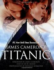 James Cameron's Titanic by James Cameron Behind The Scenes Book (2012 Paperback)
