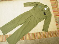 COVERALLS, UTILITY, 65% POLYESTER 35% COTTON,  MIL. SIZE:46R.