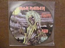 33T.LP.IRON MAIDEN.KILLERS.PICTURE DISC..EDITION LIMITEE. 500 COPIES
