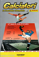 CALCIATORI PANINI=1963/64=RISTAMPA INTEGRALE DELL'ALBUM=SERIE A -B -COPPA CAMP.