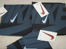 NIKE Vintage Bandana Set of  12(a dozen),  Black 1996-1997 New with Tags