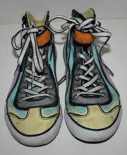 Girls PUMA Multi-Colored High-Tops Shoes Size 5