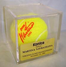 Konica MARTINA NAVRATILOVA Virginia Slims Championships (11/15/1994) Tennis Ball