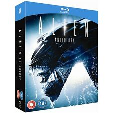 Alien Anthology 1+2+3+4 Alien+Aliens+Alien 3+Resurrection Blu-ray RegB