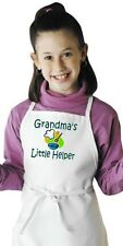 Kids Cooking Apron Grandma's Little Helper Children's Aprons by CoolAprons