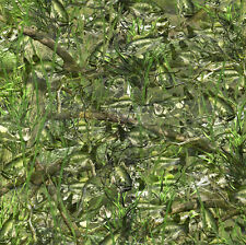 "CAMOUFLAGE 3M WRAP VINYL DECAL 48"" x 15"" BASS BOAT CAMO TREE FISH PRINT PICKUP"
