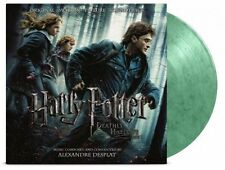 Harry Potter Deathly Hallows 1 Soundtrack Coloured Green Marb Vinyl Limited 2 LP