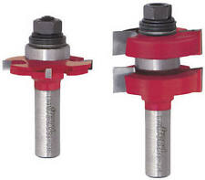 Freud 99-036 Adjustable Tongue and Groove Router Bit Set, 1/2-Inch Shank