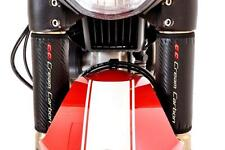 Carbon Fibre Finish Upside Down Fork Protectors - Honda CB1000 R