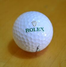 Collectable ROLEX / WILSON Golf Ball Tour Velocity 5 Bola Palline Golfbälle OEM