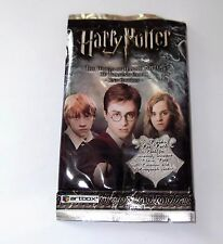 HARRY POTTER HOGWART'S LENTICULAR 3D SEALED TRADING CARDS! SET OF 7! 2ND EDITION