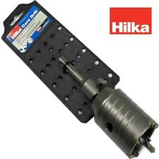 HILKA 50 mm CORE DRILL TUNGSTEN TIPPED SDS SHANK FOR BLOCK BRICK CONCRETE