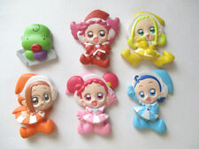 OJAMAJO MAGICAL DOREMI MAGNET FIGURE SET OF 6 AIKO BIBI MOMOKO POP JAPAN USED