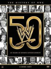 WWE: History of the WWE (DVD, 2013, 3-Disc Set)