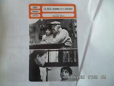 CARTE FICHE CINEMA 1967 LE VIEIL HOMME ET L'ENFANT Michel Simon Luce Fabiole