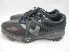 Mens Callaway Cheviot Black Grey Golf Sport Shoes Uk 8 EUR 42
