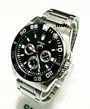 Casio Men Big Size Analog Divers Duro 200 Black Dial Watch MDV-302D-1A Quartz