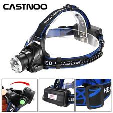 3500 LM XM-L T6 LED Head Torch Zoom Super-bright Hiking Headlamp Light 18650 SS
