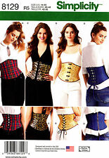 Simplicity Sewing Pattern 8129 Women's 14-22 easy Corsets - Andrea Schewe