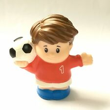 Fisher-Price Little People Soccer Player figure toddler toy QA279