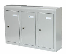 Casella POSTALE multiple 5x Multi OCCUPAZIONE dentro casa appartamento CASSETTE POSTALI Cassetta delle lettere