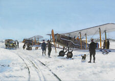 Bristol F2b Fighter WWI RAF Plane Aircraft Christmas Xmas Card