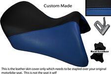 BLACK & ROYAL BLUE CUSTOM FITS BMW R 1200 RT FRONT SEAT COVER FOR A LOW SEAT