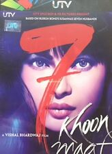 7 KHOON MAAF - BRAND NEW  BOLLYWOOD DVD – FREE UK POST