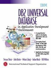 DB2 Universal Database in Application Development Environments