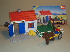 VINTAGE Lego TOWN Set 6355 DERBY TROTTER From 1989 RARE 100%  Complete Retired